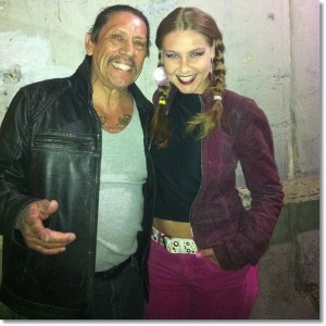 Maria Roman and Danny Trejo