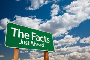Facts-ahead-sign
